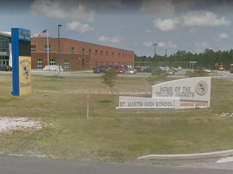 PHOTO: A 14-year-old student at St. Martin High School in Jackson, Miss., was arrested Saturday, Sept. 7, 2019, for threatening to shoot up the school on social media.