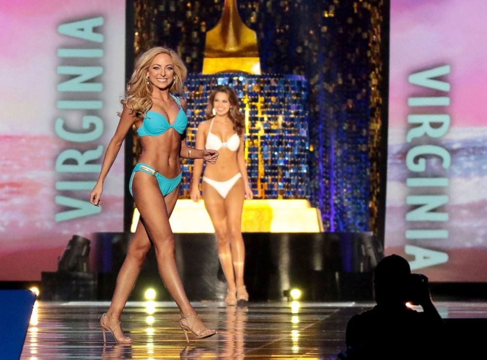 PHOTO: Miss Tennessee 2017 Caty Davis participates in the Swimsuit challenge during the 2018 Miss America Competition Show at Boardwalk Hall Arena, Sept. 10, 2017, in Atlantic City, New Jersey.
