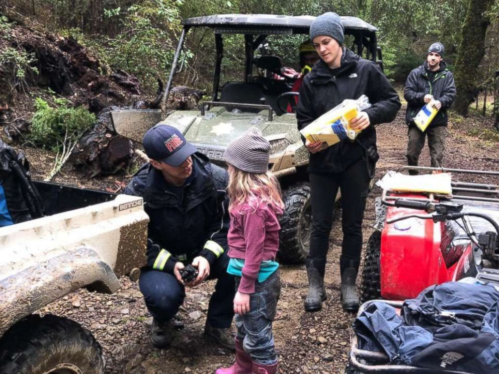 PHOTO: 8-year-old Leia Carrico, and her 5-year-old sister, Caroline, were found by first responders approximately 1.4 miles south of their home in Humboldt County, Calif., March 3, 2019.