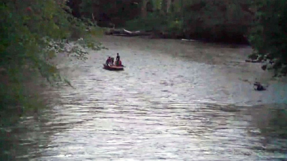 4-year-old boy swept away in flooded creek, desperate search underway thumbnail