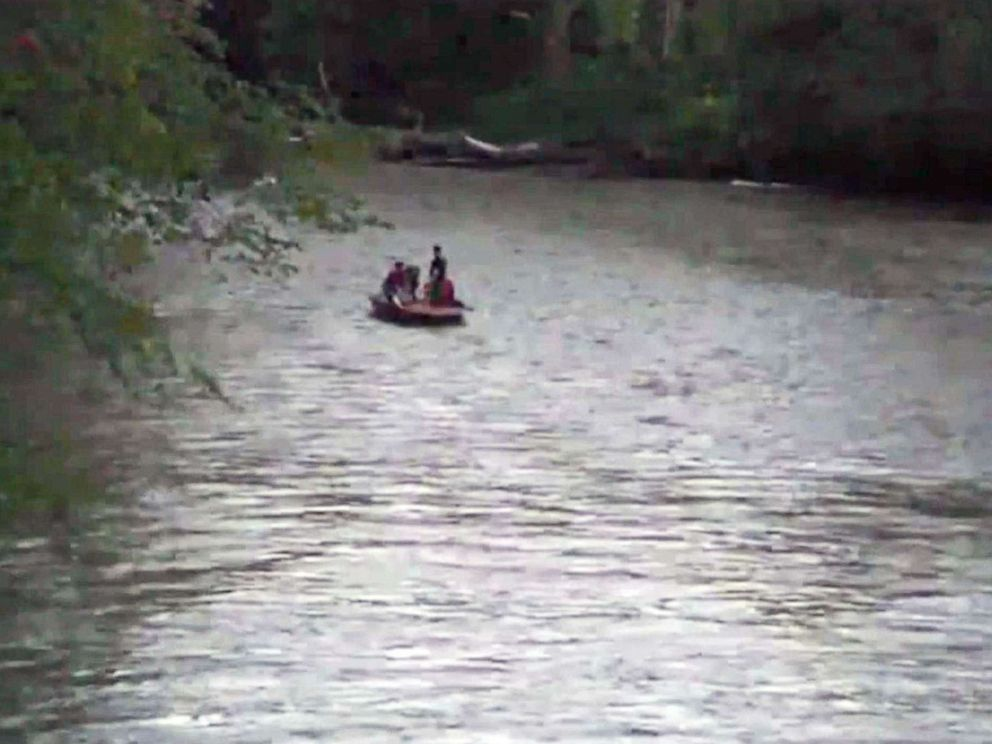 PHOTO: A 4-year-old boy was swept away in a flooded creek in Delphi, Ind.