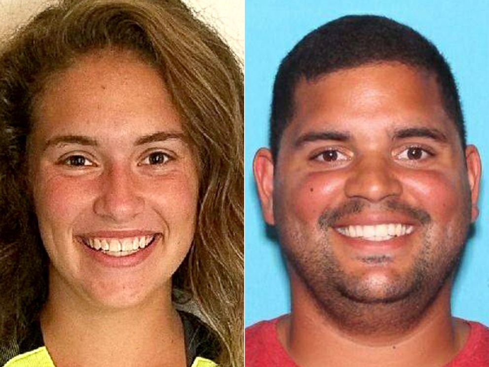 PHOTO: Undated photos of Caitlyn Frisina, 17, and Rian Rodriguez, 27, who are both missing.