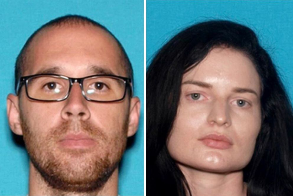 Eric Desplinter, 33, and Gabrielle Wallace, 31, pictured in undated handout photos, haven't been seen since April 6, 2019.