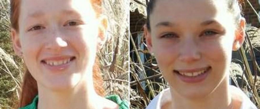 PHOTO: Undated photos of Brooke Ward and Kayla Ward released by the Robertson County Sheriffs Office.
