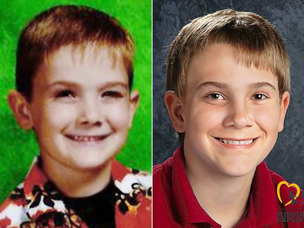 Timmothy Pitzen, pictured left, was last seen at a water park in Dells, Wis., May 12, 2011. Right is an age-progressed image of Pitzen.