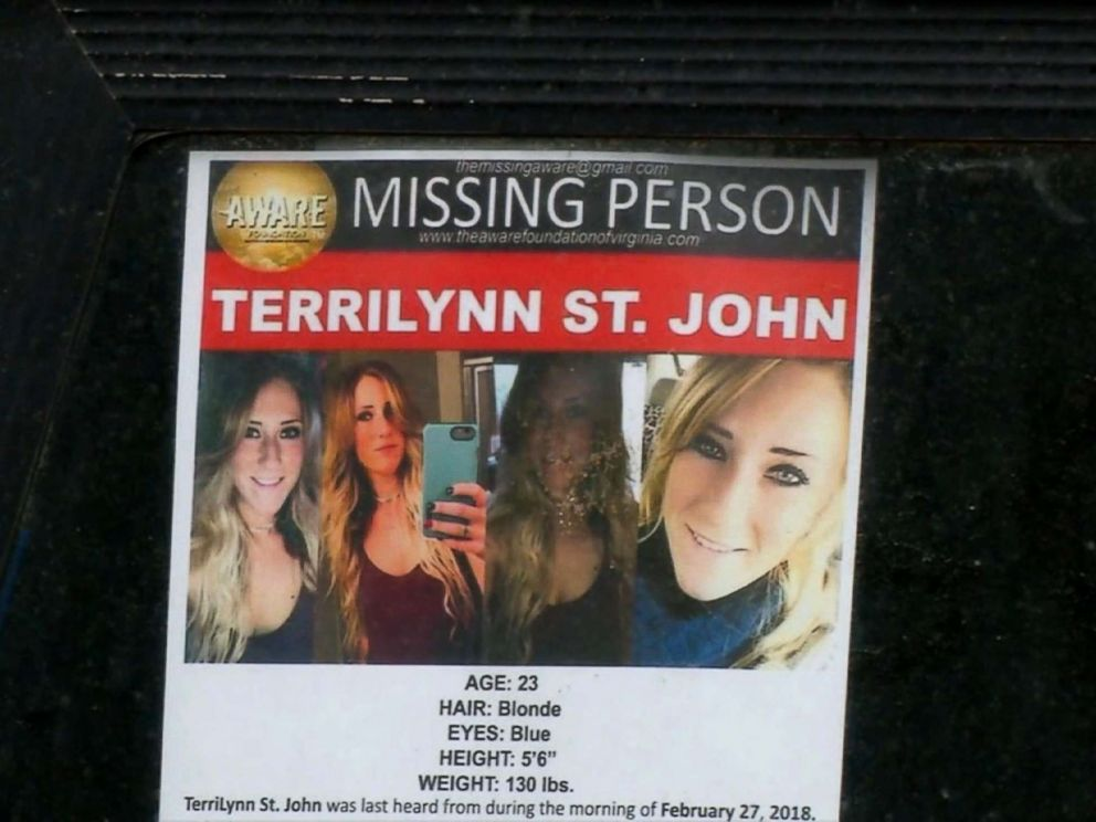 PHOTO: TerriLynn St. John, 23, was reported missing when she didnt show up for work, according to officials.
