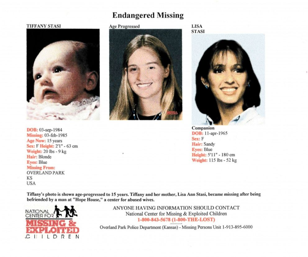PHOTO: A missing poster for Lisa Stasi and her infant daughter Tiffany.