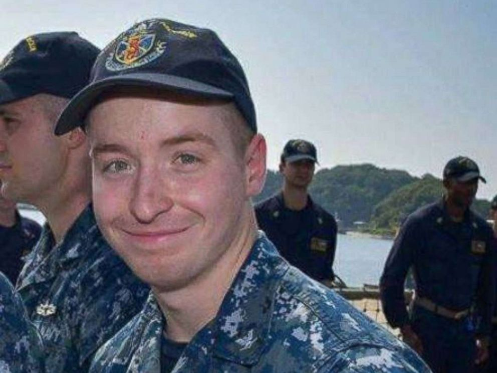 PHOTO: Ohio resident Drake Jacob was identified as one of the ten sailors missing after the USS John S. McCain collided with a merchant ship off the east coast of Singapore, Aug. 21, 2017.