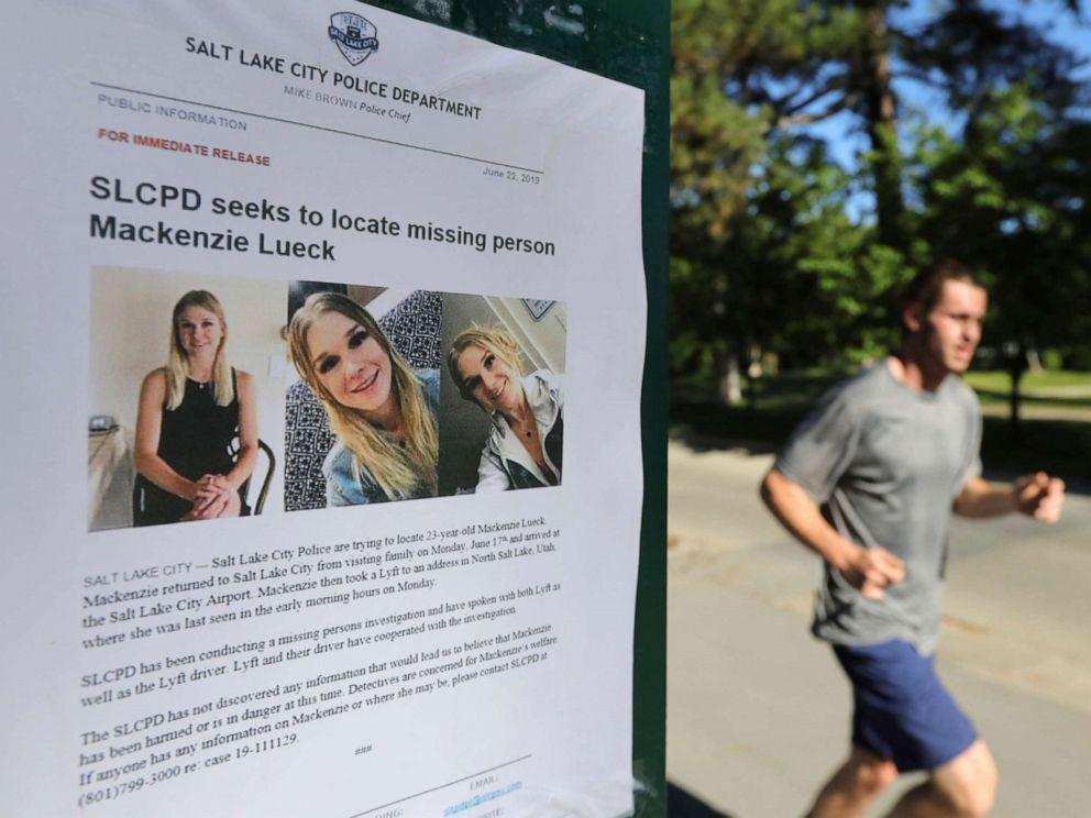 Suspect in Utah college student murder sought secret