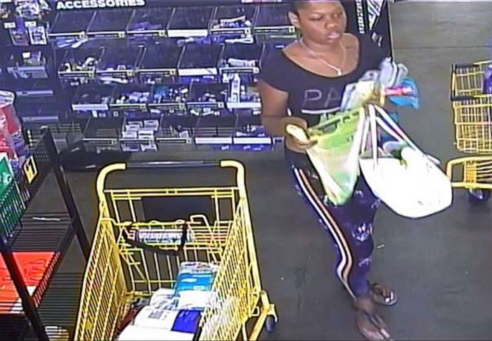 PHOTO: Greensboro, N.C., police are looking to identify this woman seen on surveillance video near the scene of the abduction of a 3-year-old girl on Wednesday, Oct. 9, 2019. The police chief called her the suspected abductor.