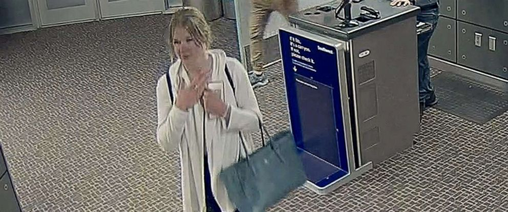 PHOTO: Salt Lake City police released photos of missing woman Mackenzie Lueck taken by security cameras at the Salt Lake City airport early on June 17, 2019.