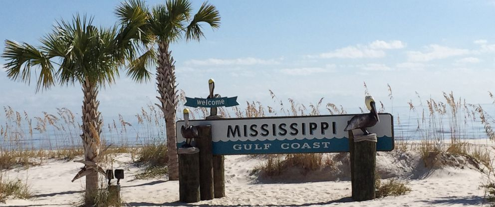 PHOTO: A sign is seen on the beach in this undated stock photo.