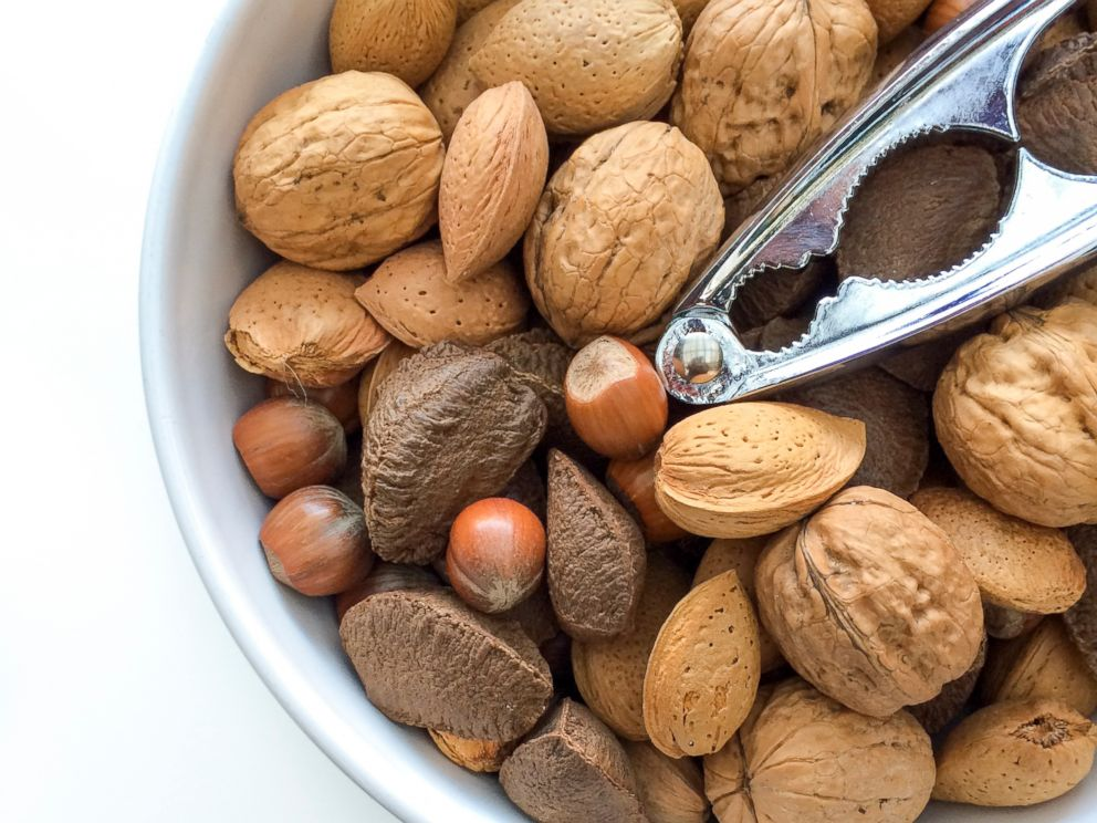 PHOTO: An undated stock photo of mixed nuts.