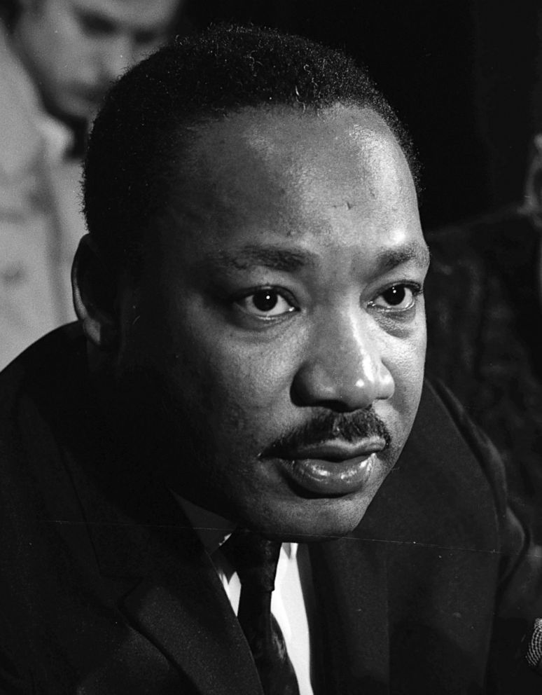 PHOTO: Civil rights leader Dr. Martin Luther King Jr.