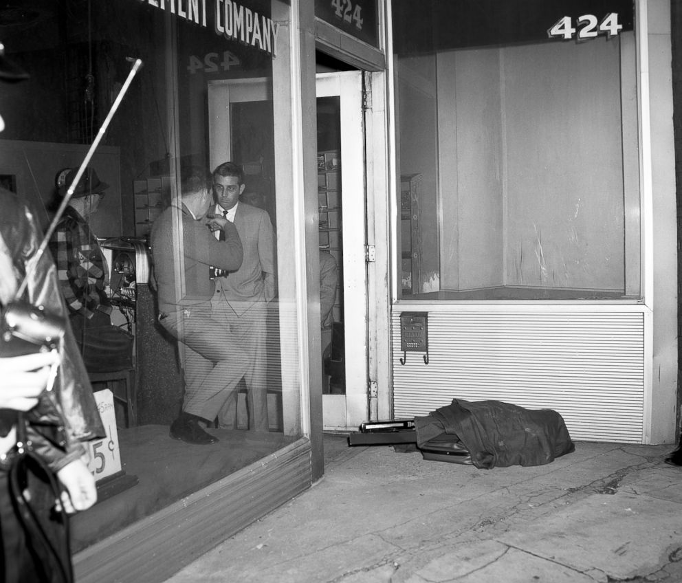 PHOTO: The rifle that James Earl Ray used was found wrapped in this blanket bundle that he abandoned when he left the rooming house.