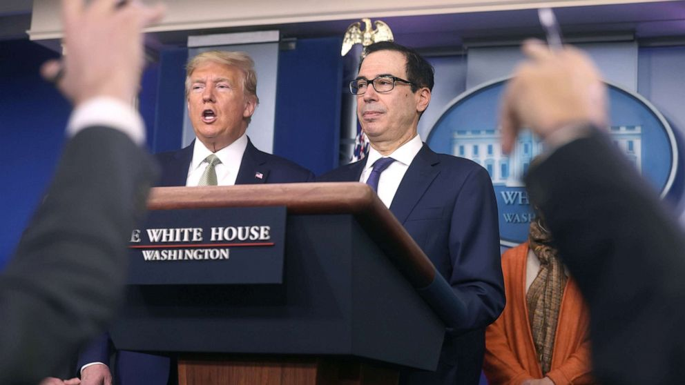 White House, Senate GOP working on $1T stimulus package, cash ...