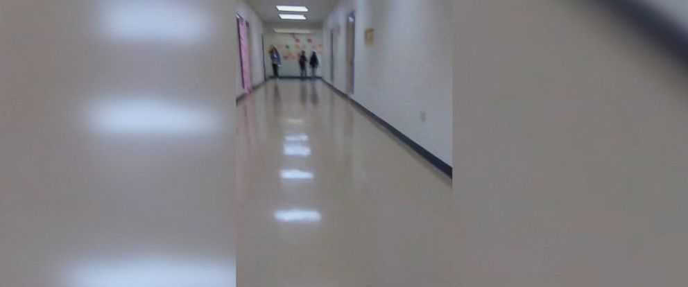 PHOTO: A San Antonio mother is pressing the South San Independent School District to consider advancing security measures to all of its schools after she documented how easy it was for her to walk into her daughter's South San High School.
