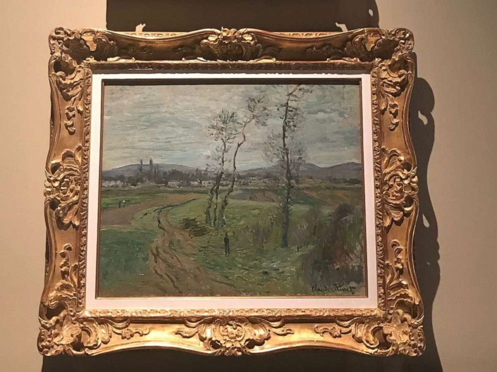 PHOTO: The stolen paintings included a Claude Monet and Fernand Leger. Both are among the artwork still missing.