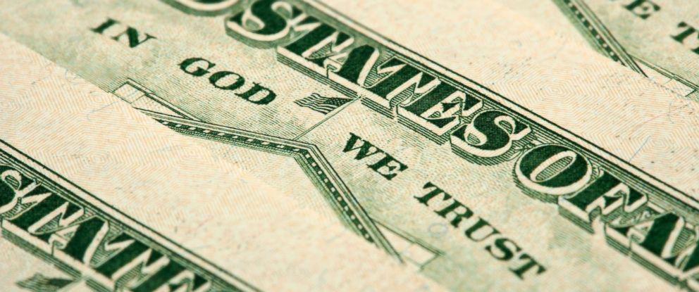 PHOTO: US money.