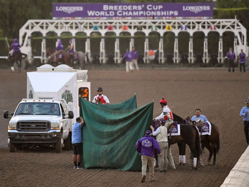 Breeders Cup Racings Super Bowl Is Marred By Another