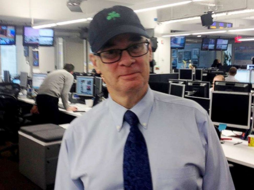 PHOTO: ABC News editor Mark Mooney pictured in the New York digital newsroom, Oct. 2013.