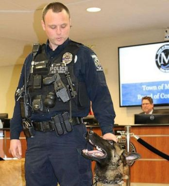 PHOTO: Mooresville, N.C., Police Department K9 Officer Jordan Harris Sheldon, 32, was shot and killed during a traffic stop on Saturday, May 4, 2019.