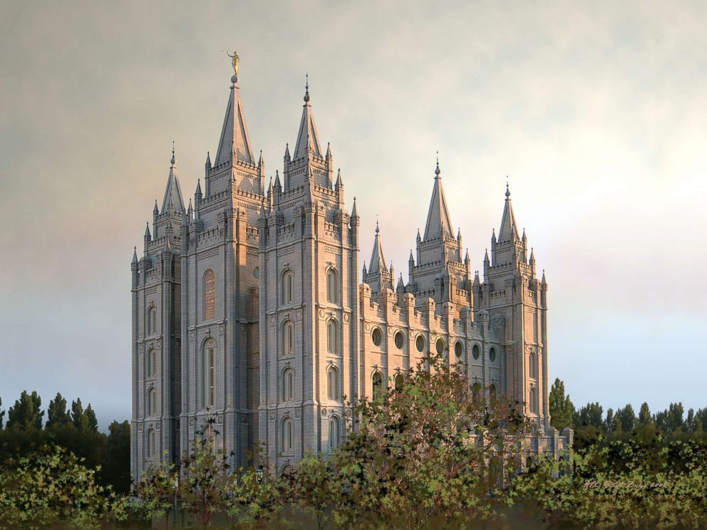 PHOTO: The Salt Lake Temple in Salt Lake City, Utah is pictured in this undated stock photo.