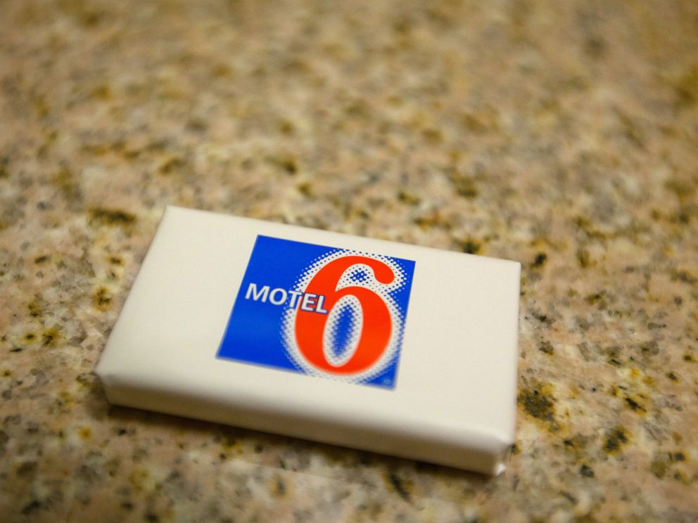 PHOTO: Soap on sink at a Motel 6, a low cost budget hotel chain located in cities across the United States.