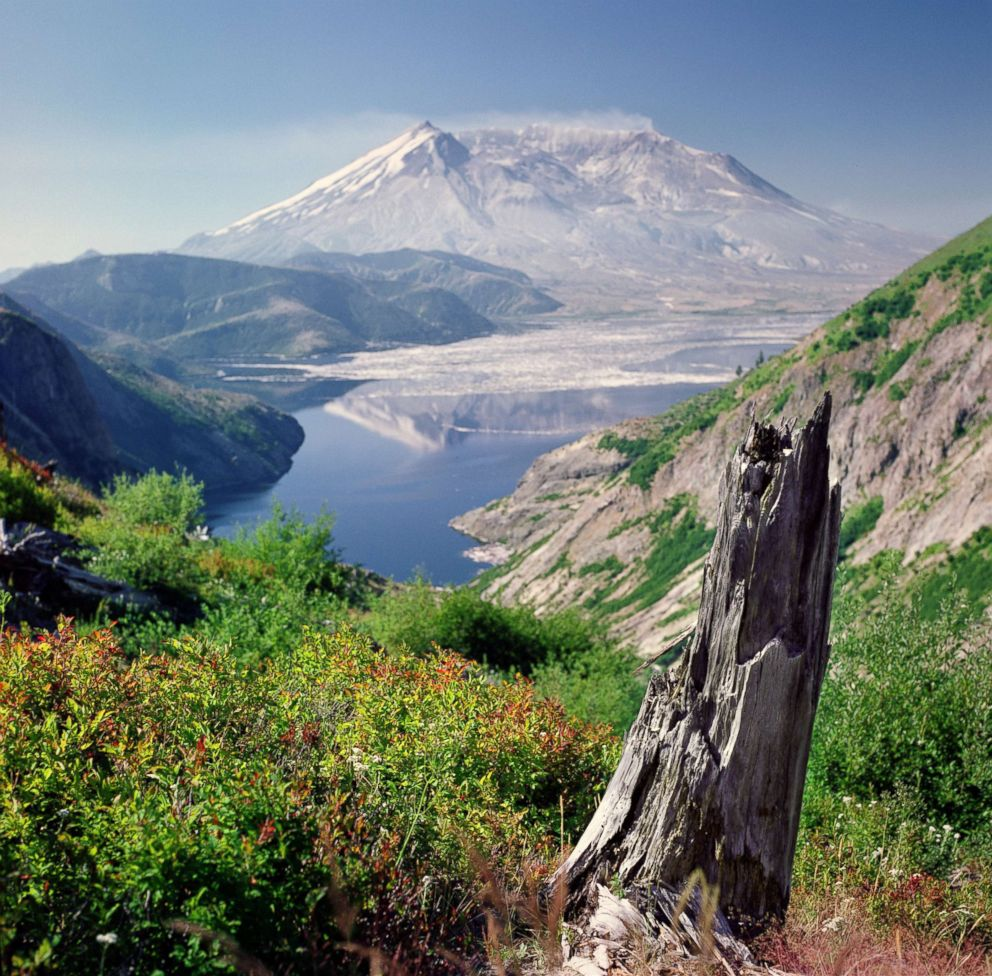 PHOTO: Mt. St. Helens in Washington.