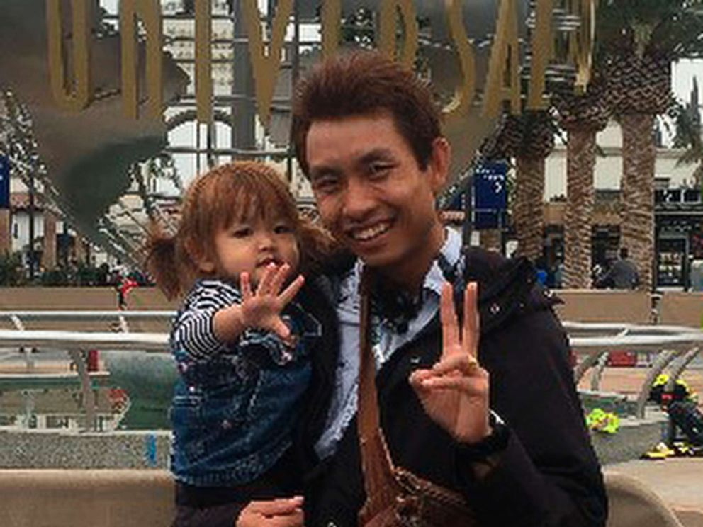 PHOTO: This undated photo provided by the Santa Barbara County Sheriffs Office Jan. 13, 2018 shows Pinit Sutthithepa with one of his children.