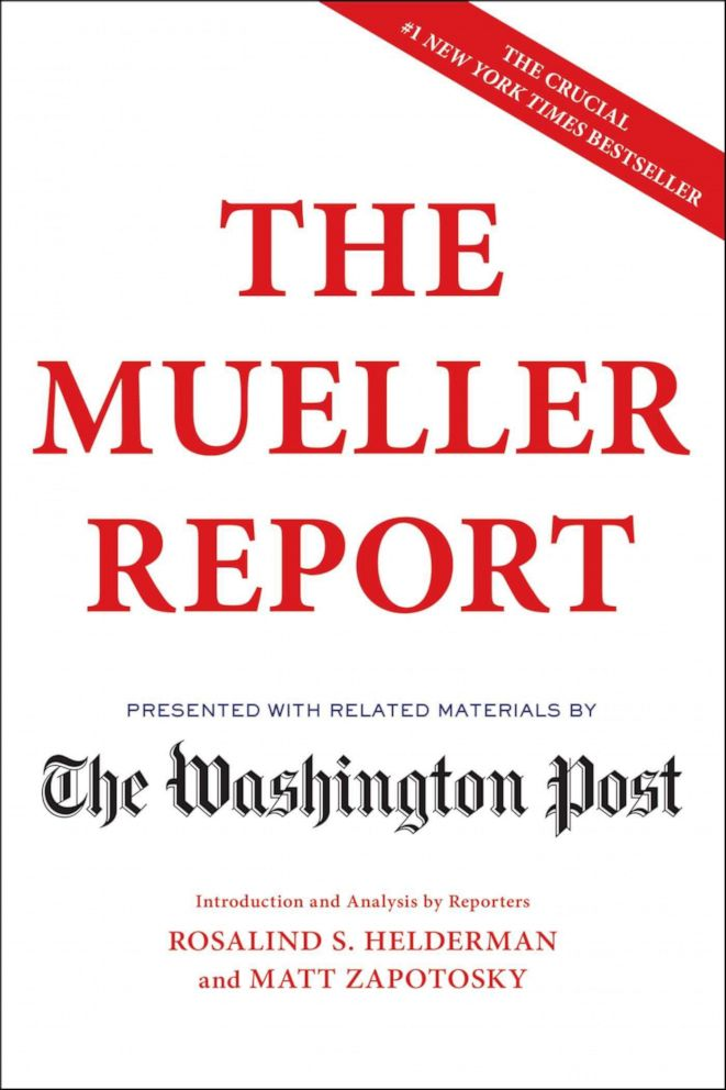 PHOTO: Sunny Hostin shares The Washington Posts analysis of The Mueller Report as one of her 2019 summer must-reads on The View.
