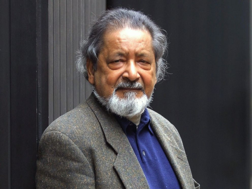 PHOTO: Author V.S. Naipaul is seen in New York, Oct. 31, 2001.