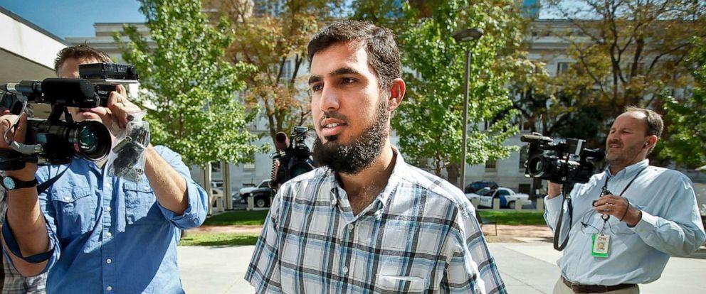 PHOTO: Najibullah Zazi, 24, arrives at the Byron G. Rogers Federal Building, Sept. 17, 2009, in Denver.