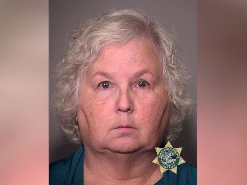 PHOTO: Nancy L. Crampton-Brophy appears in this mugshot provided by the Portland Police Bureau.