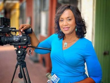PHOTO: Nancy Parker worked at New Orleans Fox affiliate WVUE for 23 years. She was killed in a plane crash while filming a piece on Aug. 16, 2019.