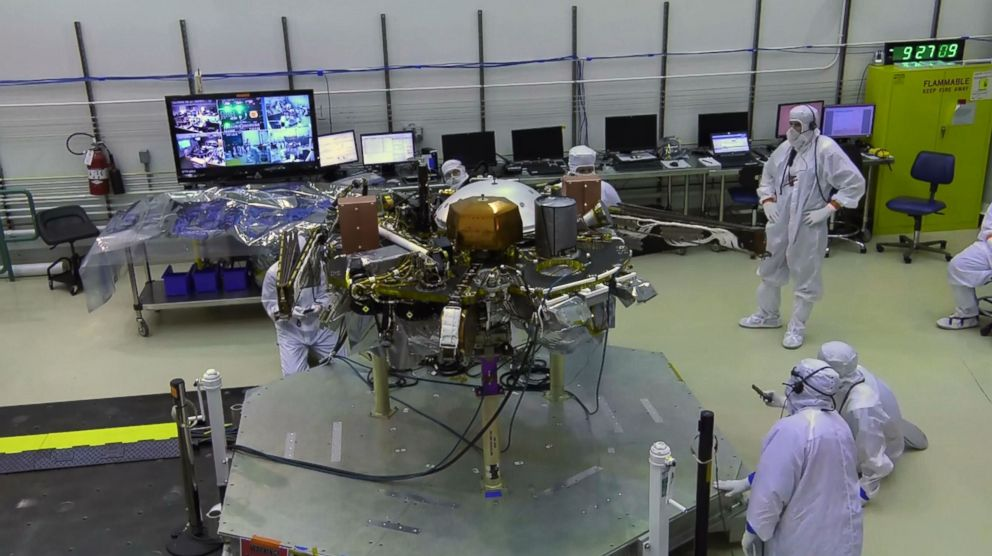 PHOTO: NASAs next mission to Mars, Interior Exploration using Seismic Investigations, Geodesy and Heat Transport, on InSight, will be the first interplanetary launch from the West Coast.