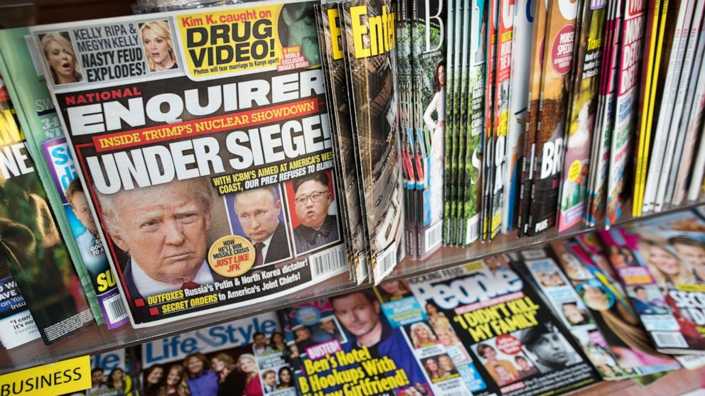National Enquirer, accused of extortion by Amazon CEO Jeff Bezos, put up for sale