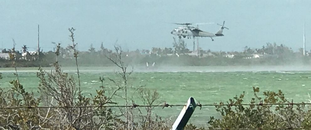 PHOTO: Military jet crashes near Naval Air Station Key West, March 14, 2018.
