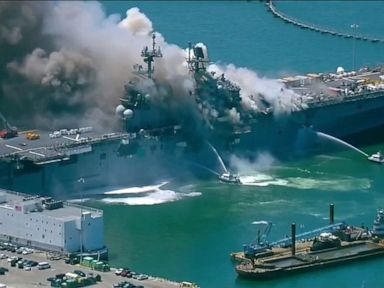 Officials investigating after 21 sailors civilians injured in naval ship explosion
