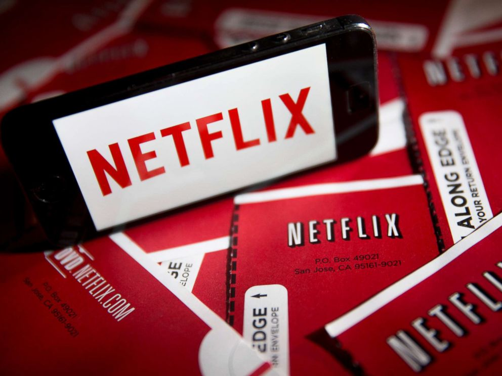 PHOTO: The Netflix Inc. logo is displayed in Washington, April 14, 2015.