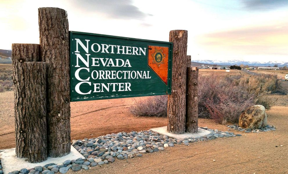PHOTO: A sign for Northern Nevada Correctional Center is pictured in this undated photo from State of Nevada Department of Corrections website.