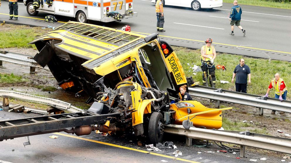 School bus driver in deadly New Jersey crash had 14 license