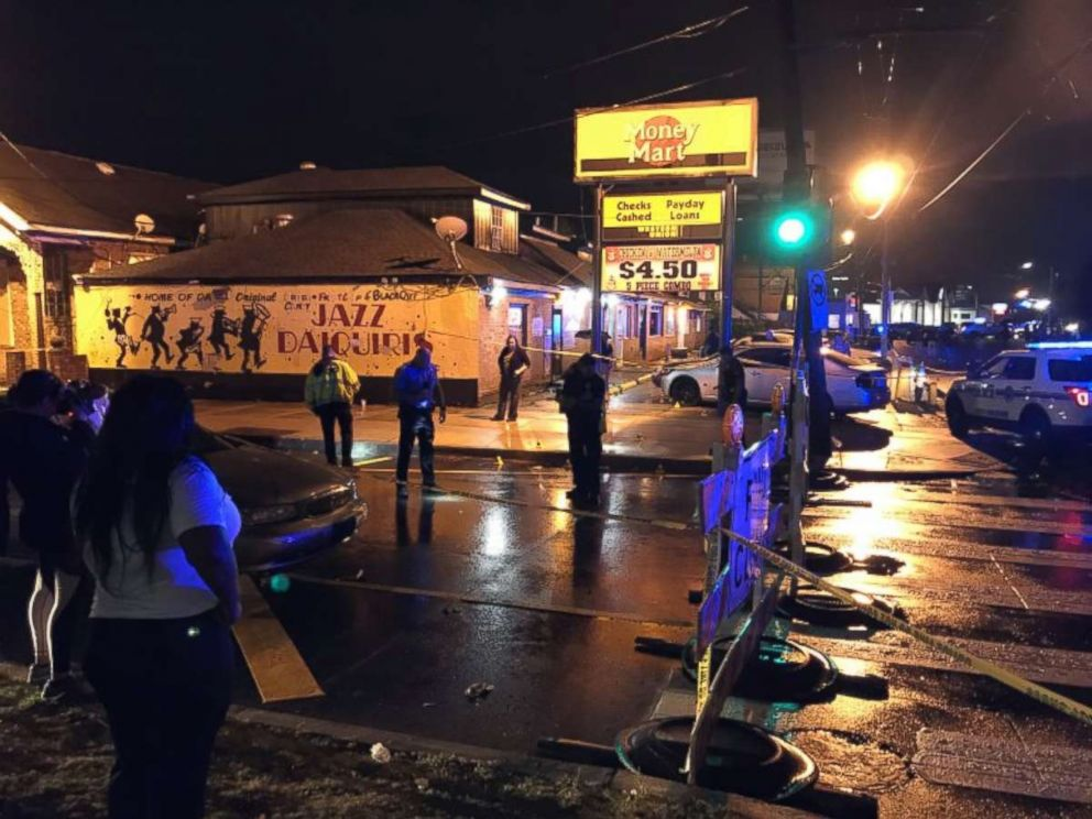 A gunfight in New Orleans on Saturday, July 28, 2018, killed three people and wounded another seven.