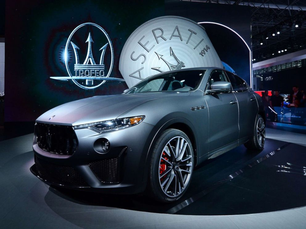luxury cars york  New York auto show revs up with focus on SUVs and luxury cars - ABC News