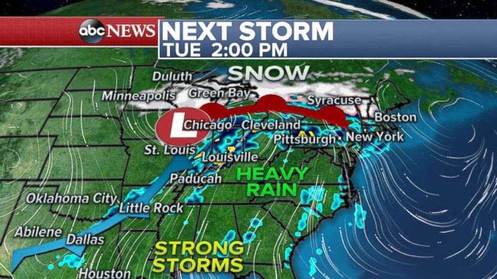 No joke: More snow likely Friday and possible nor'easter next week