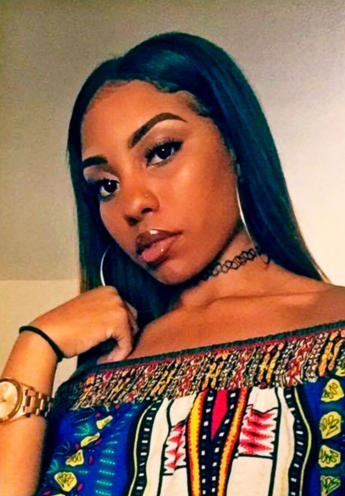 PHOTO: This July 3, 2017 selfie provided by Ebony Monroe shows her cousin Nia Wilson, who was killed in an unprovoked stabbing attack at a Bay Area Rapid Transit station in Oakland, Calif. on July 22, 2018.