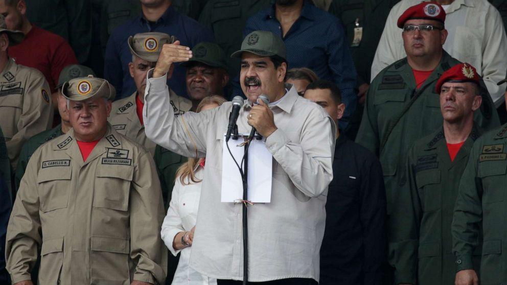Staatsanwälte verkünden Medikament gegen Venezuela Nicolas Maduro