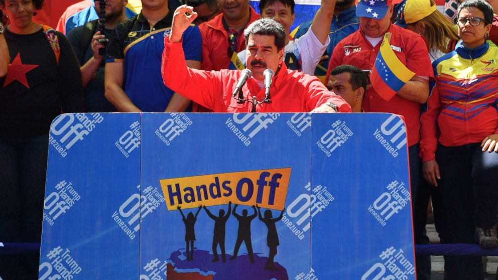 'Start Here': Maduro's message for Trump, preparations for US-North Korea summit, no big-money donors for Elizabeth Warren thumbnail