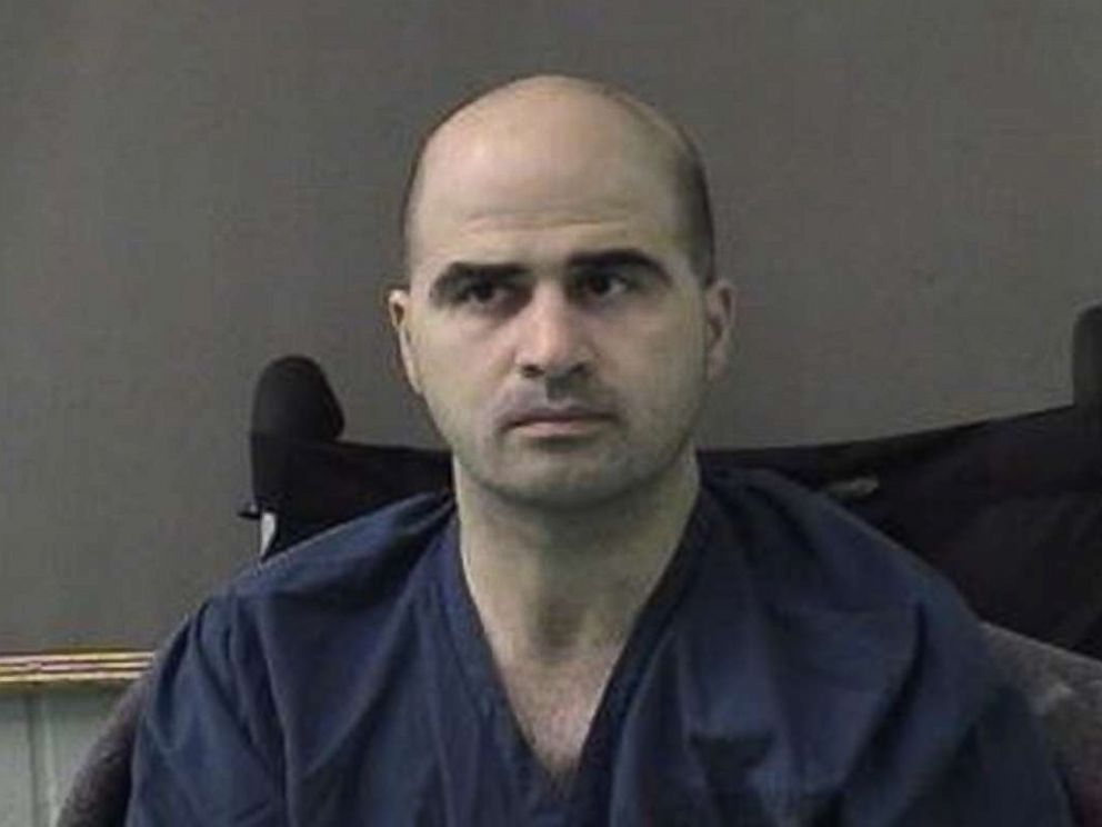 PHOTO: U.S. Maj. Nidal Hasan, the Army psychiatrist who is charged with murder in the Fort Hood shootings, is seen in a booking photo after being moved to the Bell County Jail on April 9, 2010 in Belton, Texas.