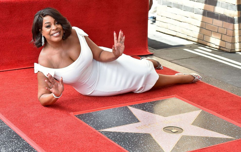PHOTO: Actress Niecy Nash is honored with star on the Hollywood Walk of Fame on July 11, 2018 in Hollywood, Calif.